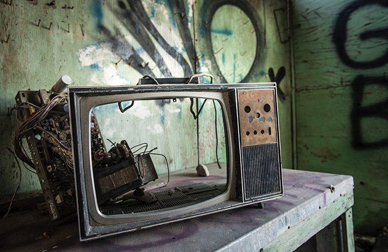 tele antigua para ver lword
